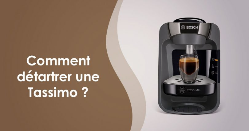 détartrage machine tassimo