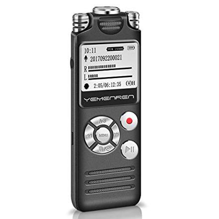 dictaphone rechargeable usb