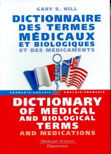 dictionnaire anglais français médical