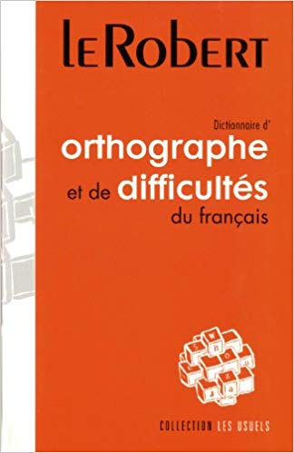 dictionnaire orthographe