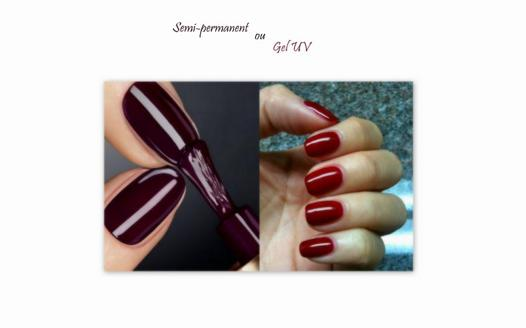 difference entre gel et vernis semi permanent