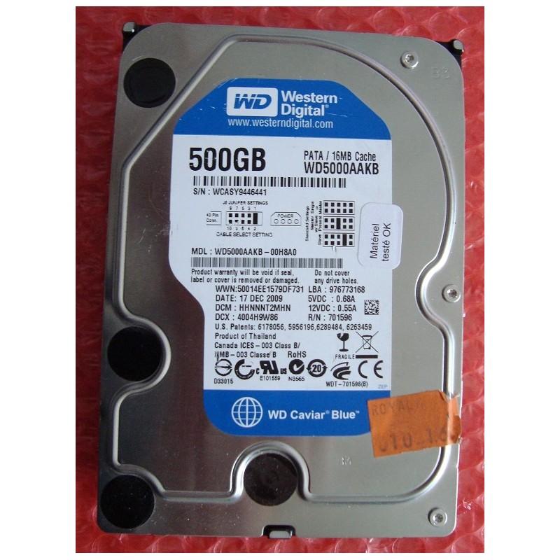 disque dur 500 go western digital