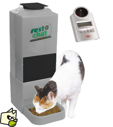 distributeur croquettes automatique chat