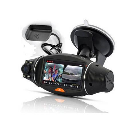 double camera voiture