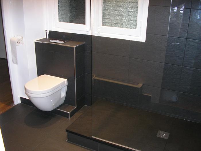 douche wc intégré