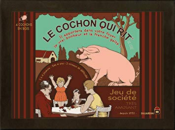 dujardin le cochon qui rit version luxe