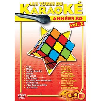 dvd karaoké année 80