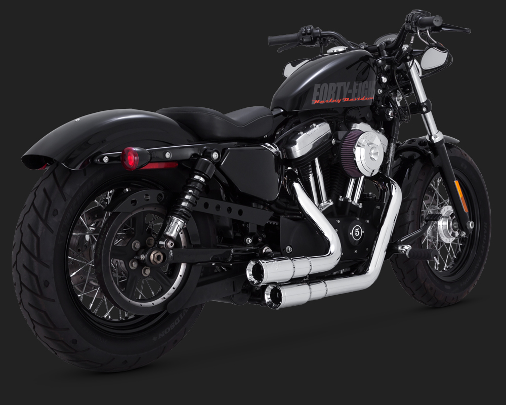 echappement vance and hines sportster