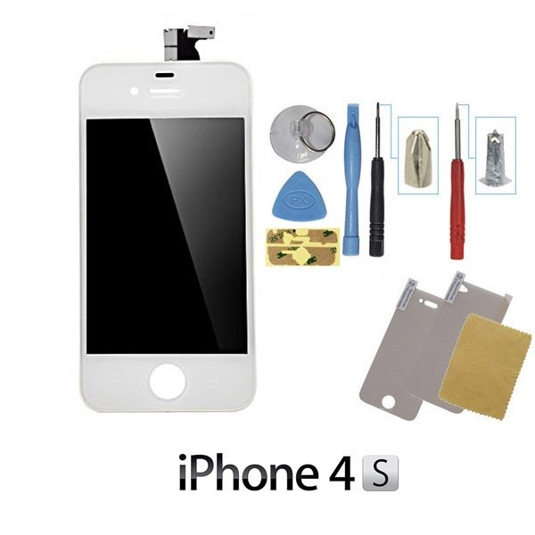 ecran iphone 4s blanc