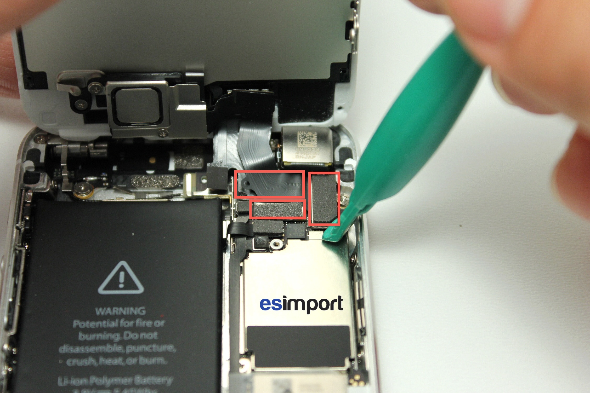 ecran tactile iphone 5c ne fonctionne plus