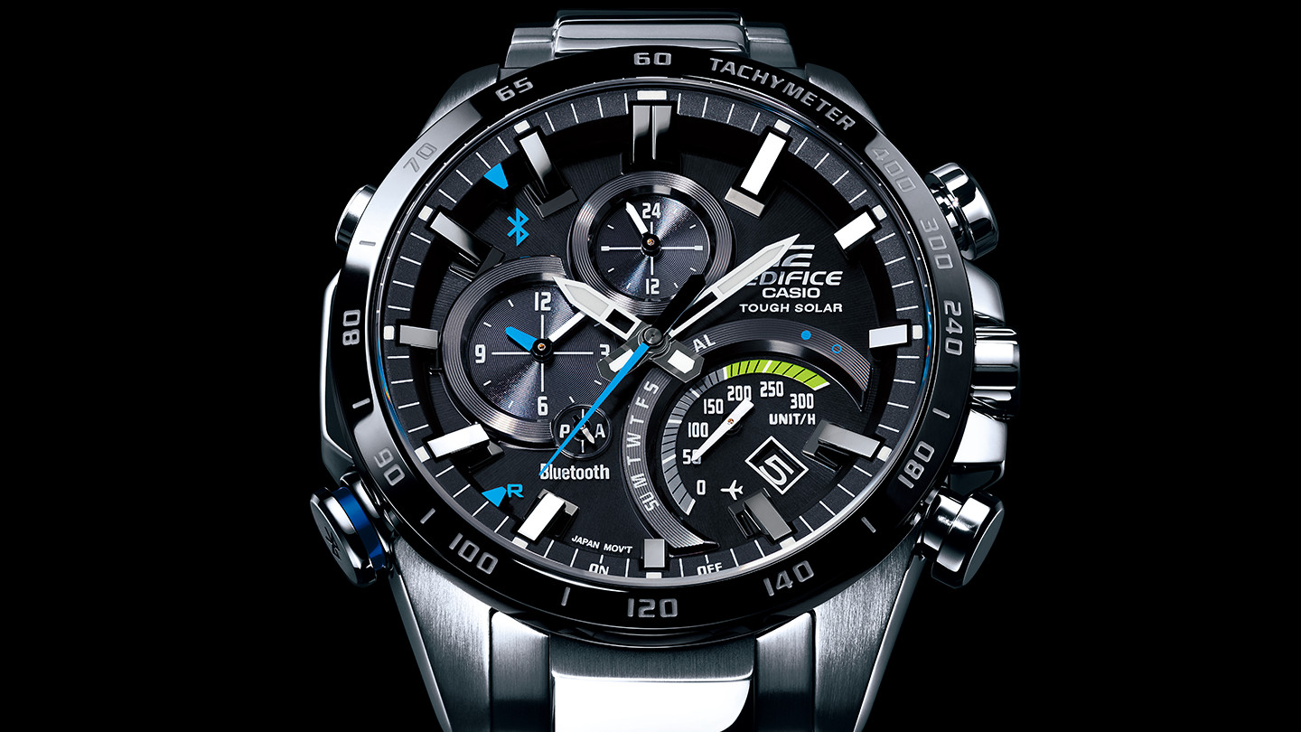 edifice casio bluetooth