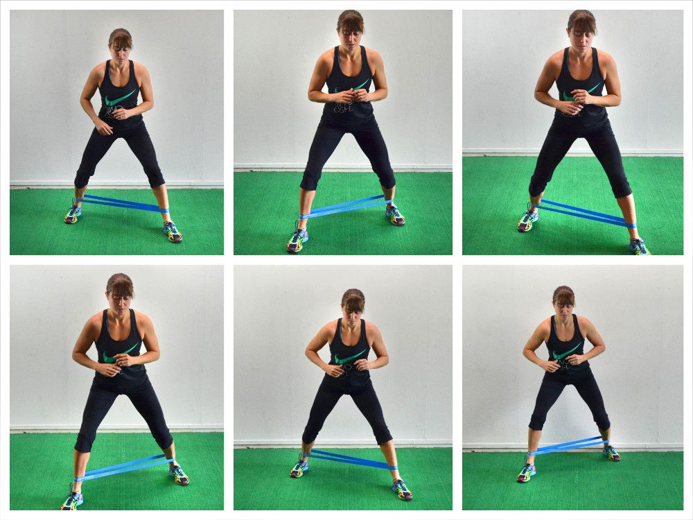 elastique musculation fessier