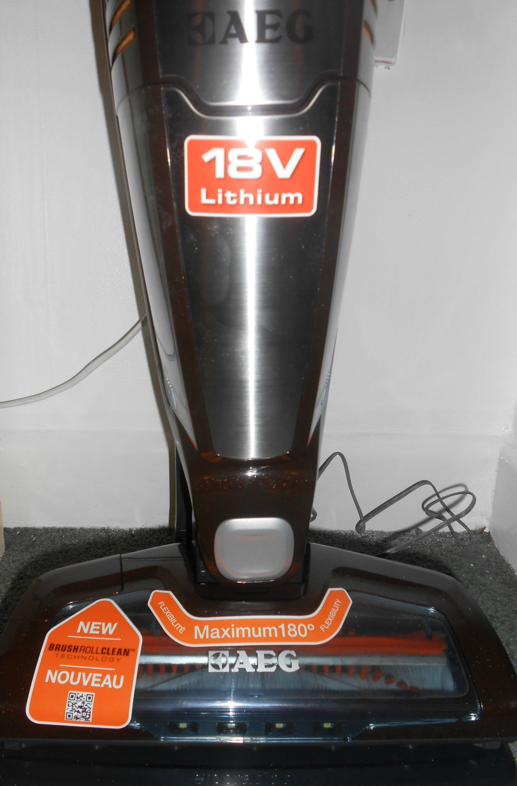 electrolux ergorapido plus lithium 18v