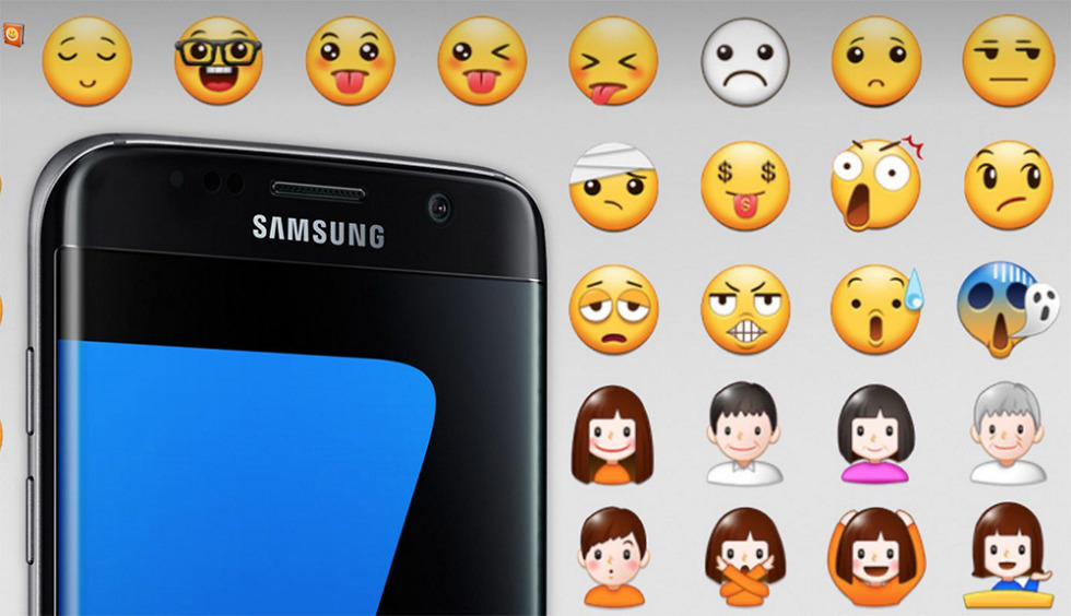 emoticone samsung