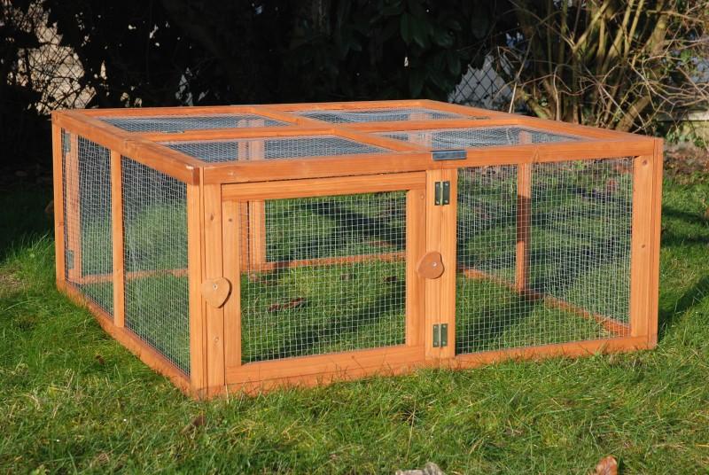 enclos pas cher pour lapin