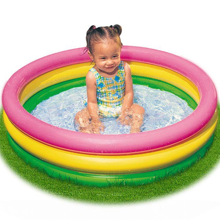 enfant piscine gonflable
