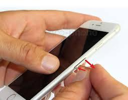enlever la carte sim iphone 4
