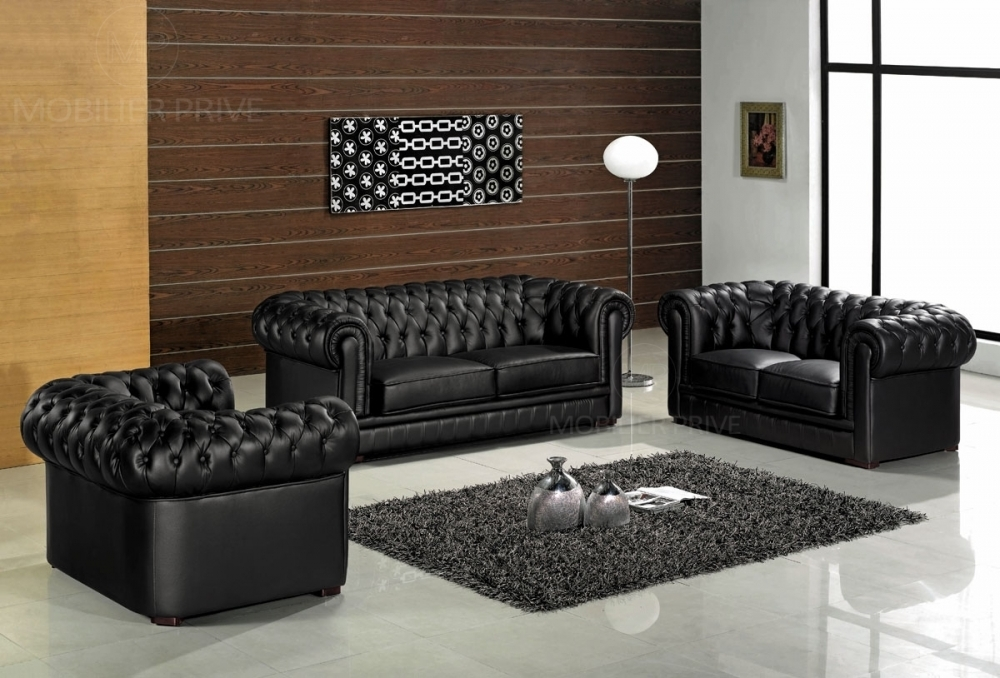 ensemble canapé cuir 3+2+1