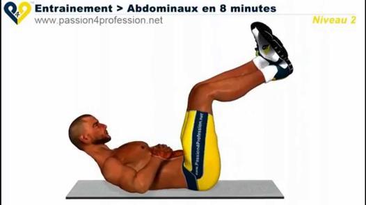 entrainement abdominaux niveau 2