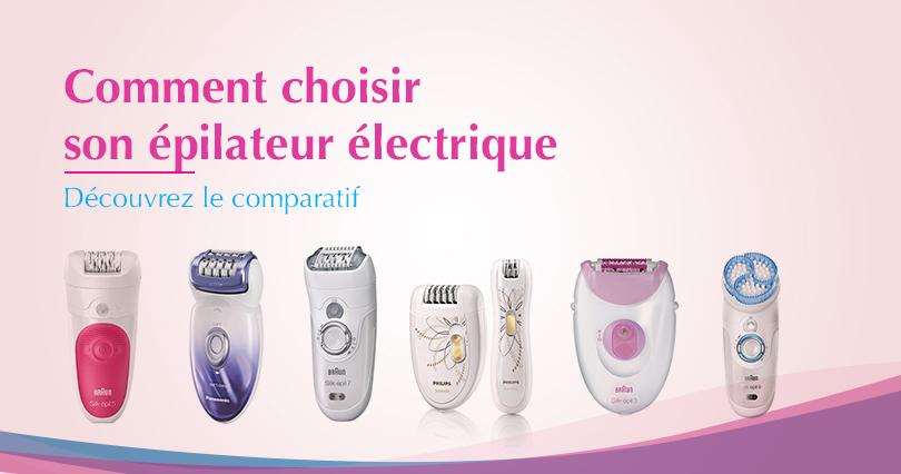 epilateur electrique anti douleur