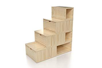 escalier en cube