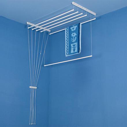 etendoir linge plafond