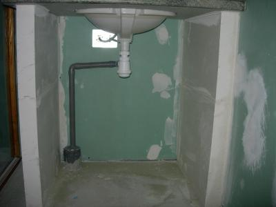evacuation lavabo