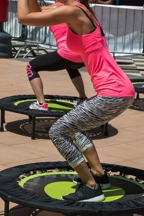 exercice trampoline debutant
