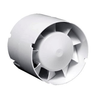 extracteur d air 125 mm silencieux