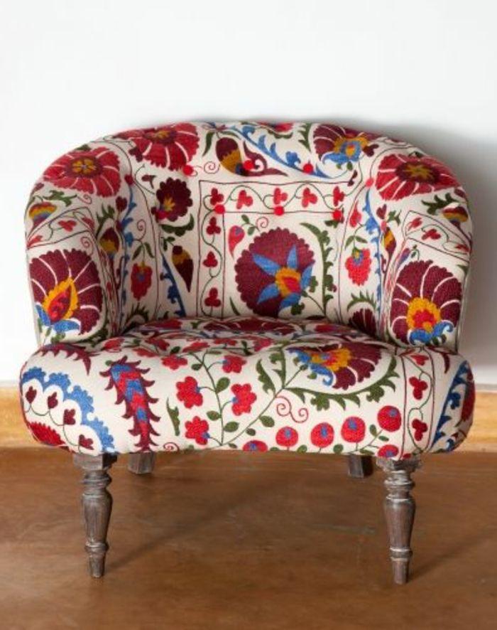 fauteuil coloré pas cher