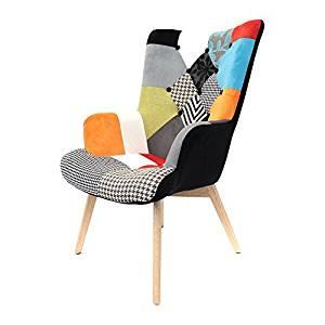 fauteuil patchwork