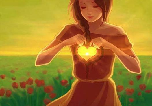 femme coeur