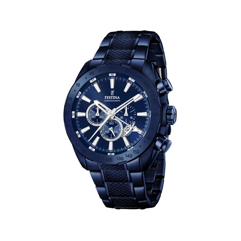 festina montre bleu