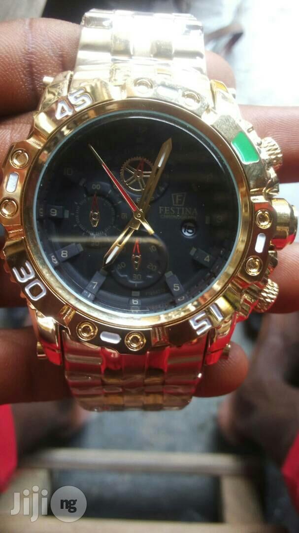 festina wrist watch