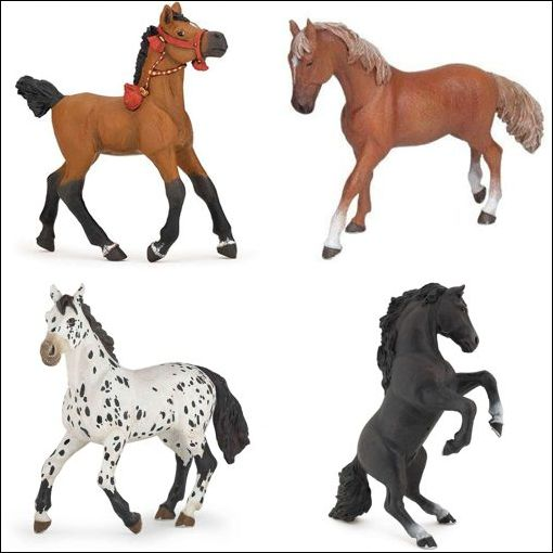 figurine cheval pas cher