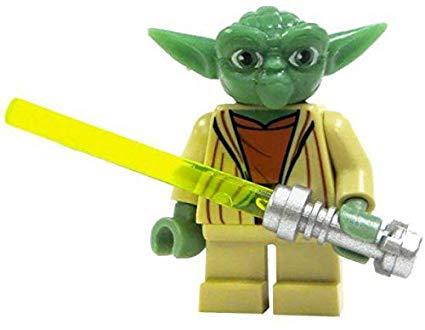 figurine lego yoda