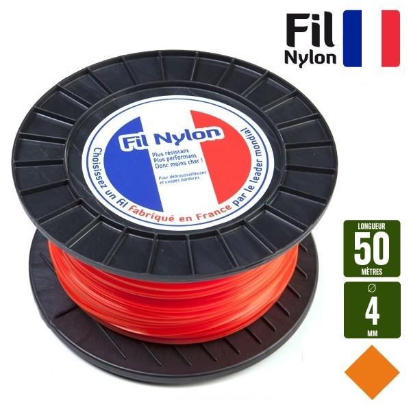 fil pour debroussailleuse 4 mm
