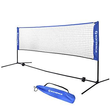 filet badminton pliable