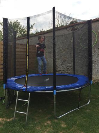 filet trampoline 245