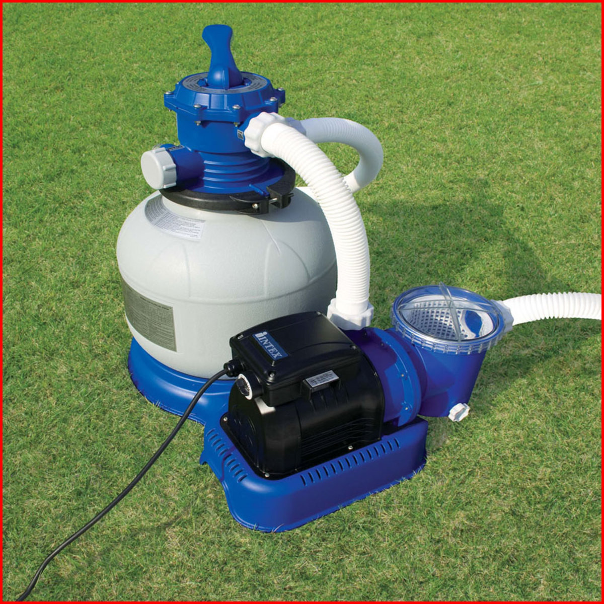 filtre a sable et pompe pour piscine hors sol