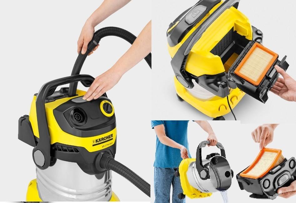filtre aspirateur karcher mv5 premium