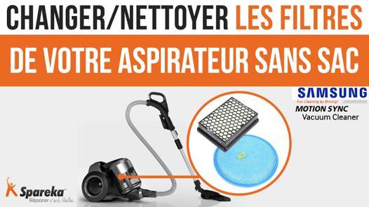 filtre pour aspirateur samsung sans sac