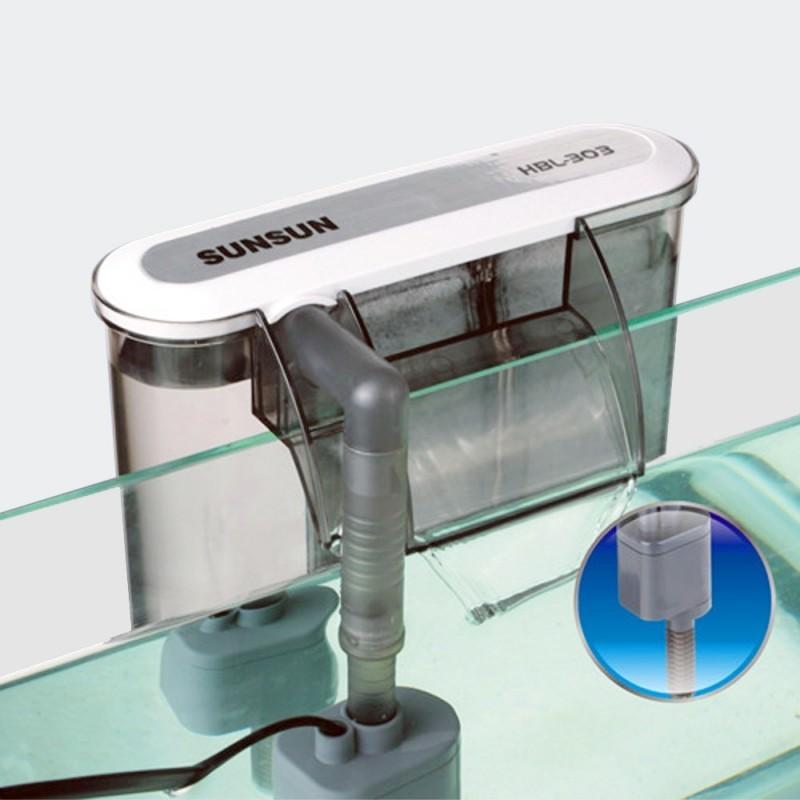 filtre suspendu aquarium