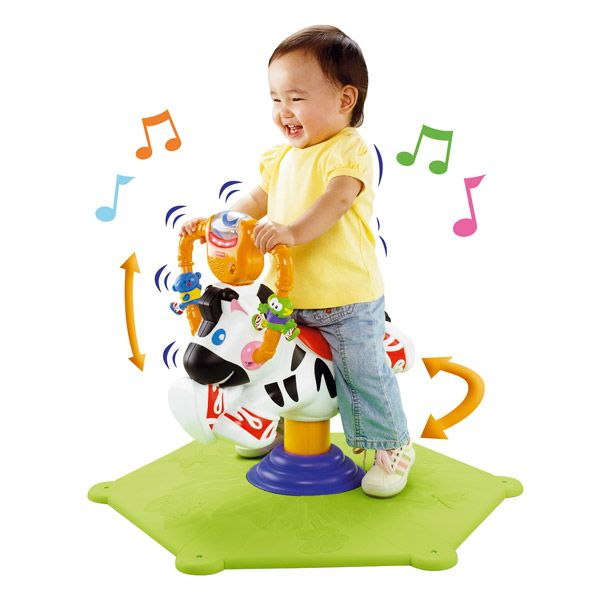 fisher price zebre tourni rebond
