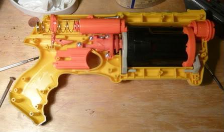 fonctionnement nerf pistolet
