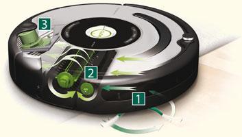 fonctionnement robot aspirateur