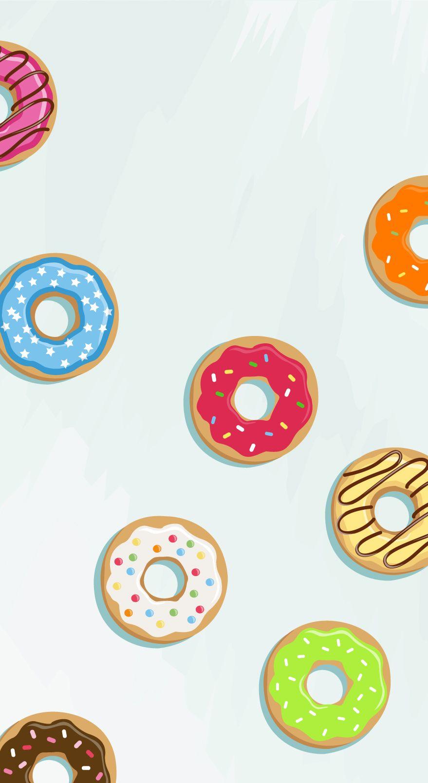 fond d écran donuts