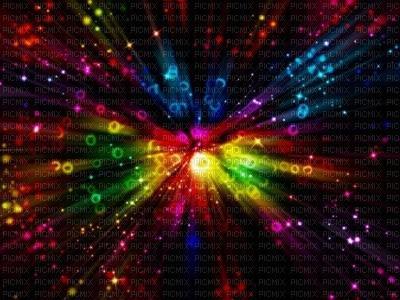 fond multicolore animé