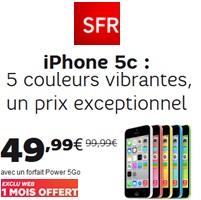 forfait avec iphone 5c