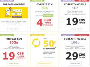 forfait mobile 2go